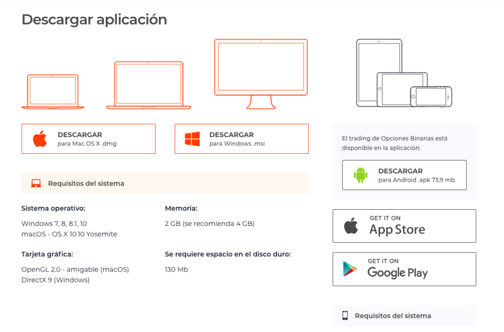 Descargar IQ Options
